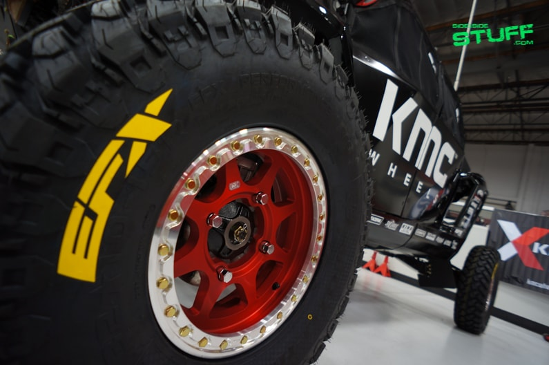KMC Wheels Baja Prerunner Polaris RZR XP Turbo 06