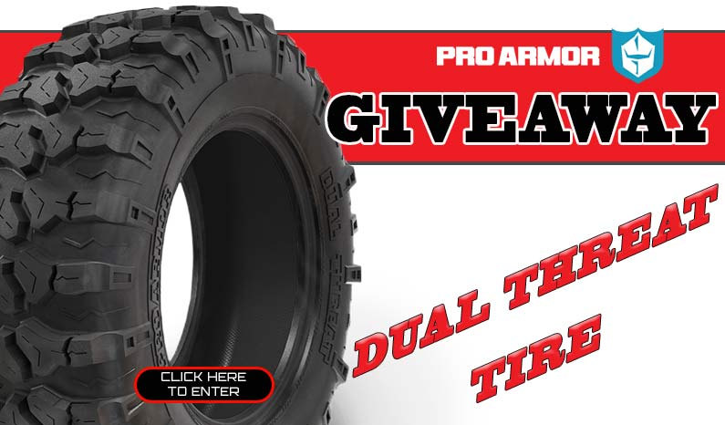 Pro Armor Dual Threat Tire Giveaway