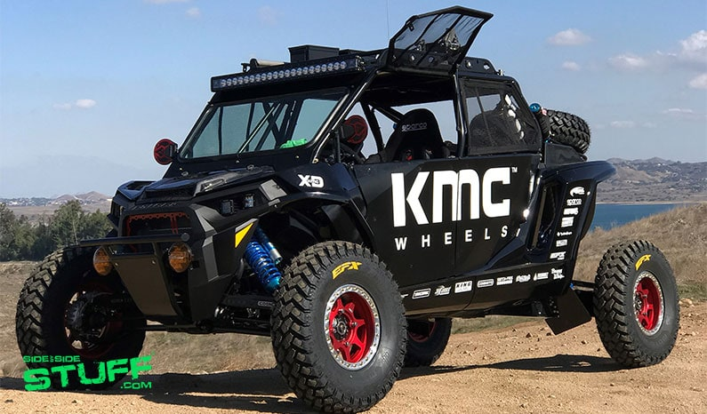 KMC Wheels Baja Prerunner Polaris RZR XP Turbo 05