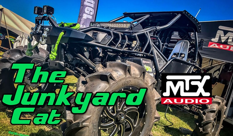 "MTX Audio's Custom Arctic Cat Wildcat, ""The Junkyard Cat"""