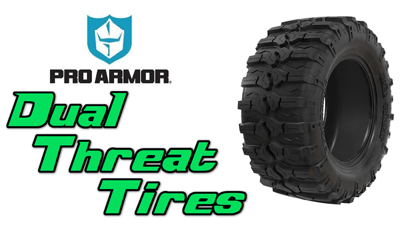 Pro Armor Dual Threat Tires for UTVs | Side By Sides
