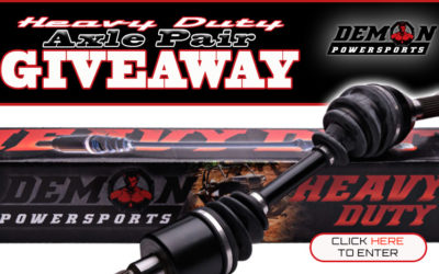 Demon Powersports Axle Pair Giveaway