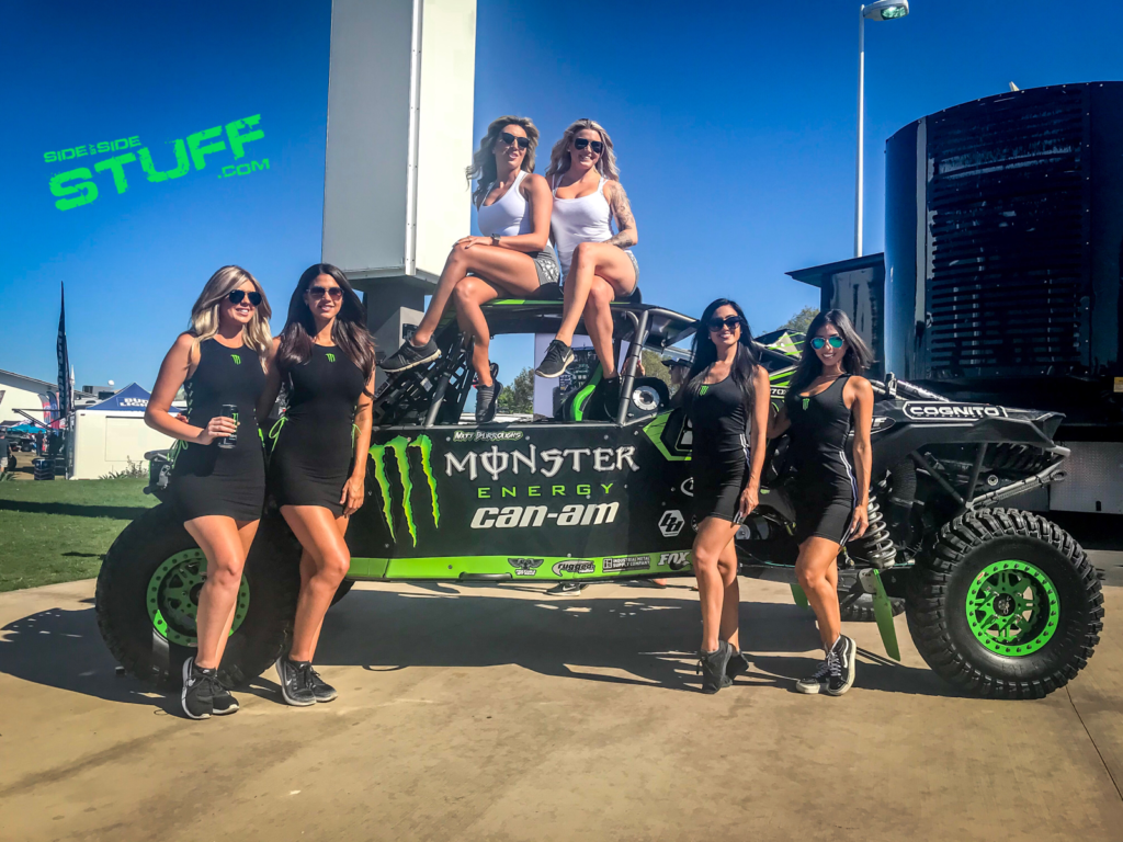 Monster Energy Girls Sand Sports Super Show