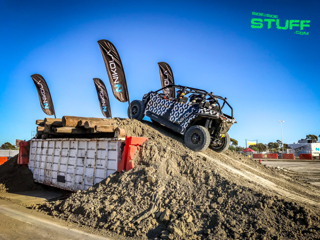 Nikola NZT Sand Sports Super Show