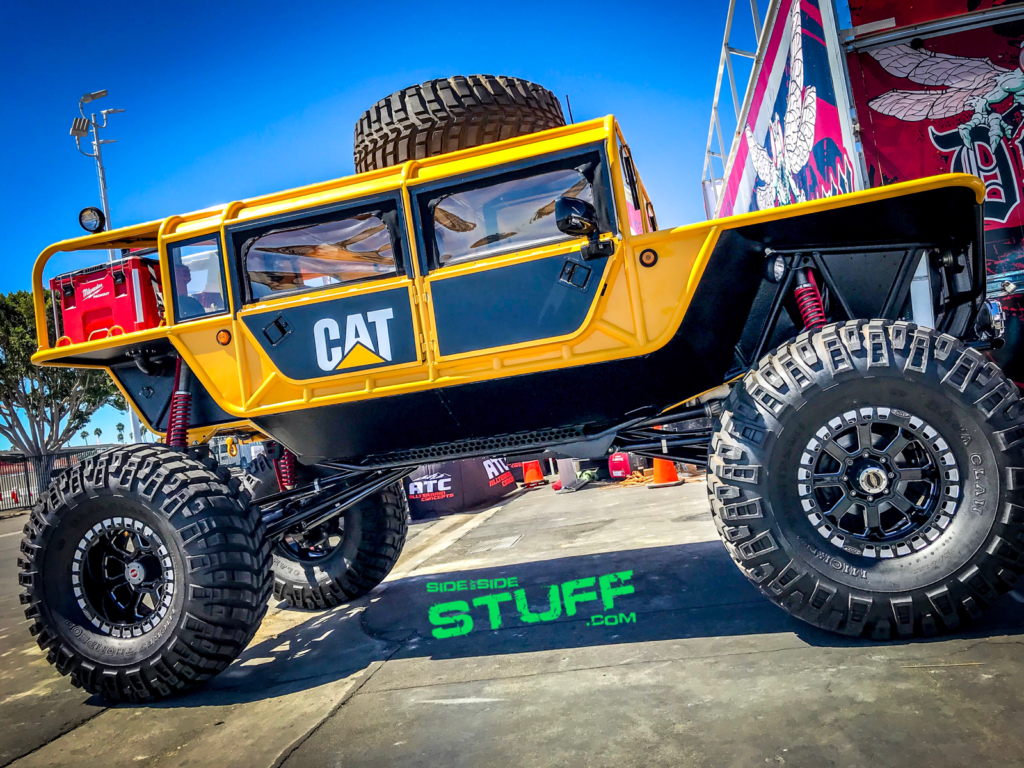 CAT Off-Road Build Sand Sports Super Show