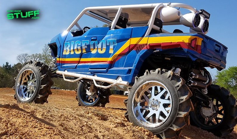 "Dave Kost's Rogue Off-Road Polaris General, ""Bigfoot"""