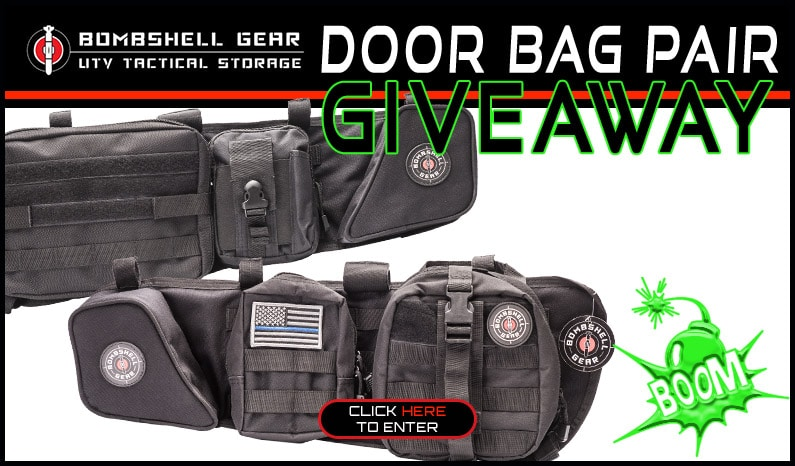 Bombshell Gear Door Bag Giveaway