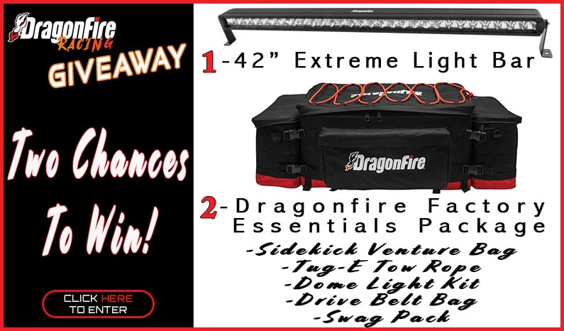 Dragonfire Racing Double Giveaway