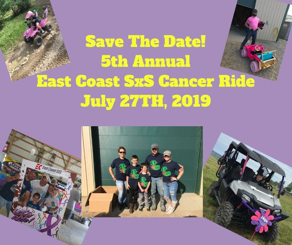 East Coast SxS Cancer Ride
