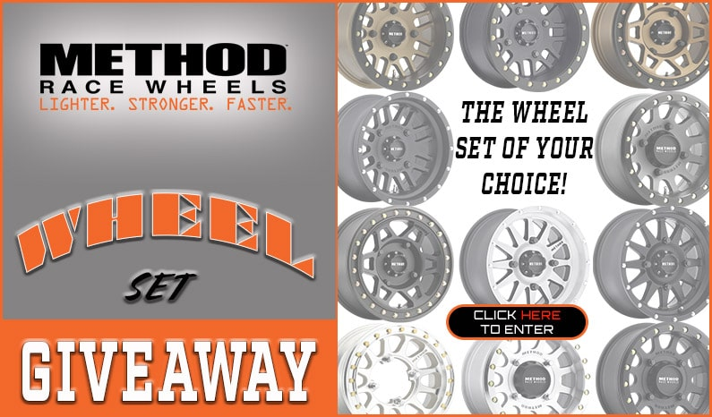 Method Race Wheels Wheel Set Giveaway