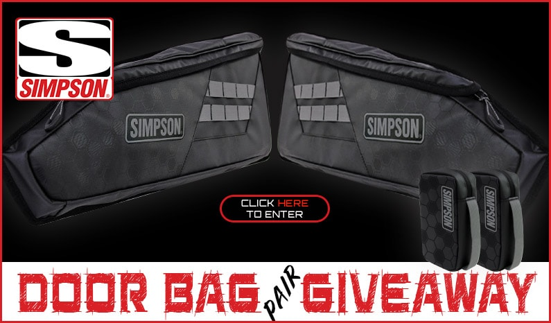 Simpson Performance Products Door Bag Giveaway