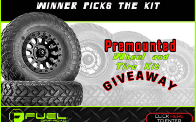 Fuel Off-Road Premounted Wheel and Tire KitGiveaway