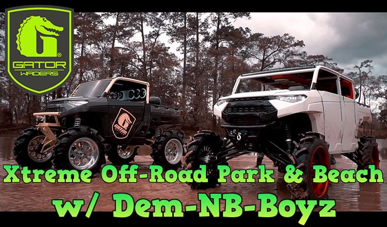 Gator Waders | Xtreme Off-Road Park & Beach w/ Dem-NB-Boyz