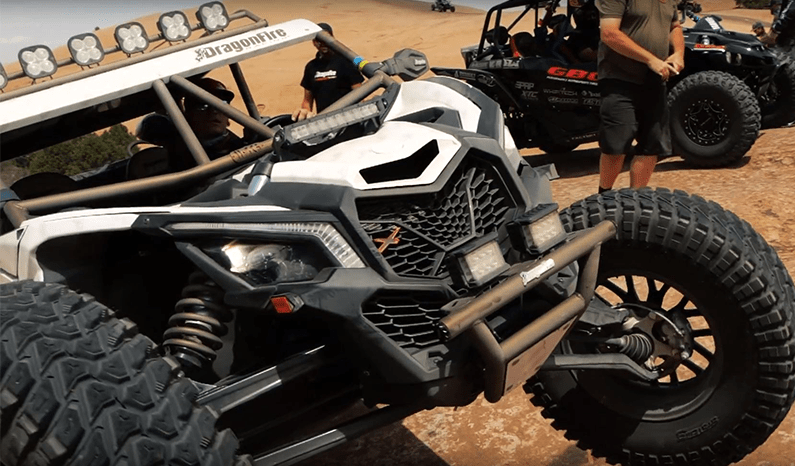 Dragonfire Racing Video: Mobbin' in Moab