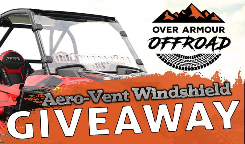 Over Armour Offroad Aero-Vent Windshield Giveaway