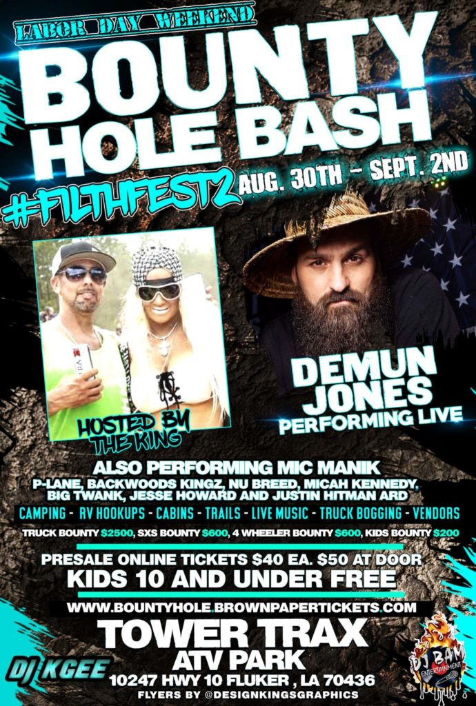 Bounty Hole Bash: Filthfest 2