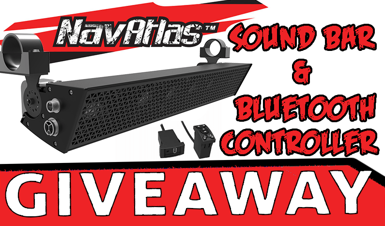 NavAtlas Sound Bar & Bluetooth Controller Giveaway