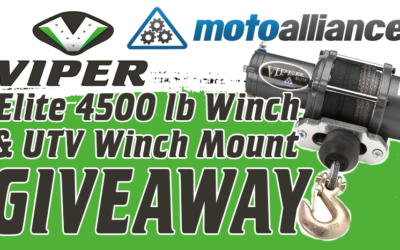 MotoAlliance Viper Elite 4500 lb. Winch and UTV Winch Mount Giveaway