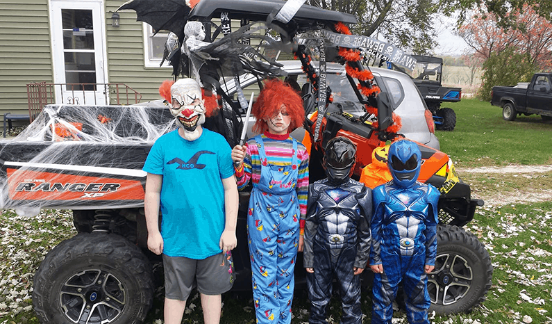 Creepin' it Real – Halloween 2019   Spooktacular Side By Sides & Costumes