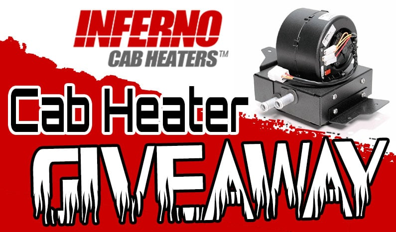 Inferno Cab Heater Giveaway