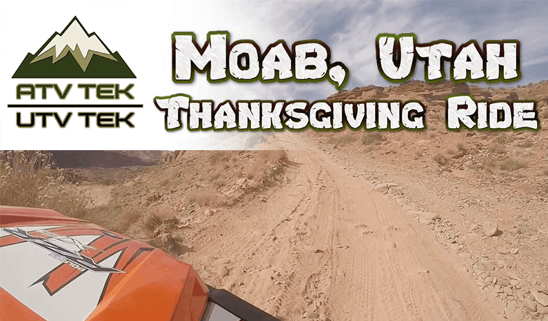 ATV-Tek | Moab, Utah Side By Side & Dirt Bike Thanksgiving Ride