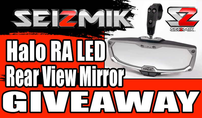 Seizmik Halo RA LED Rear View Mirror Giveaway