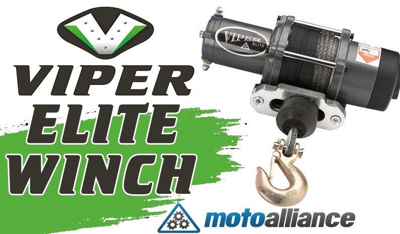Viper Elite Winch from MotoAlliance