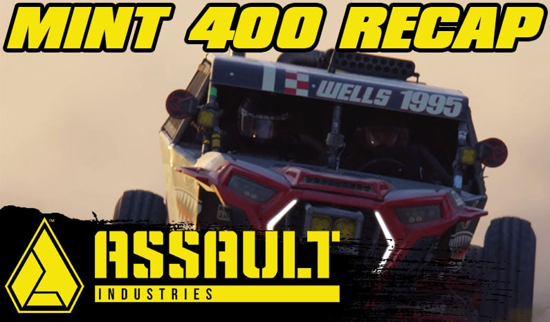 Assault Industries Presents: The Mint 400 Short Social Media Recap