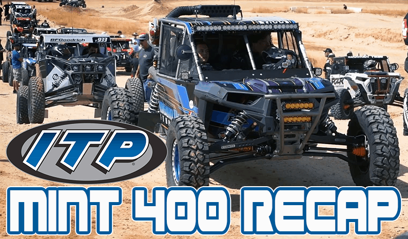 ITP Tires and Wheels | Recap Video of #TeamITP at the Mint 400