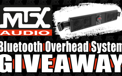 MTX Audio Bluetooth Overhead SystemGiveaway