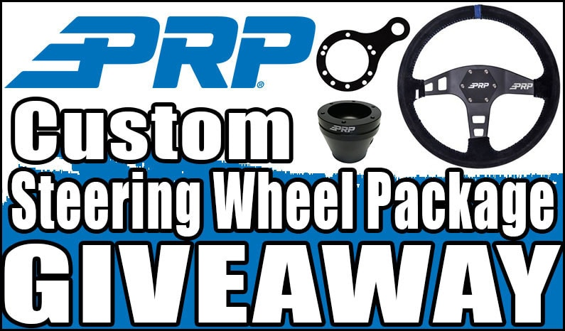 PRP Custom Steering Wheel Package Giveaway