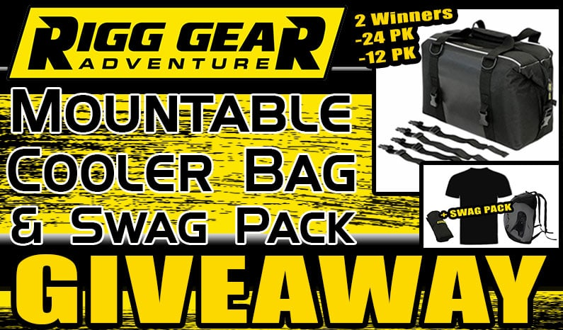 Rigg Gear Mountable Cooler Bag and Swag Pack Giveaway