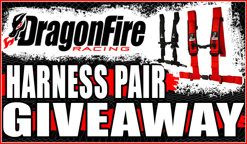 DragonFire Racing Harness Pair Giveaway