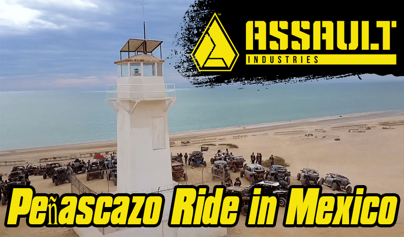 Assault Industries Presents: 2020 Peñascazo Ride in Mexico // DX Deportes
