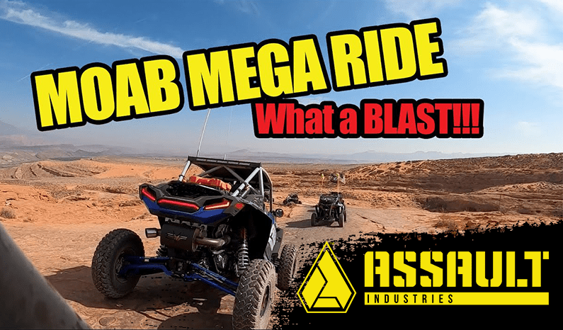 Assault Industries Presents: Moab Utah Mega Ride