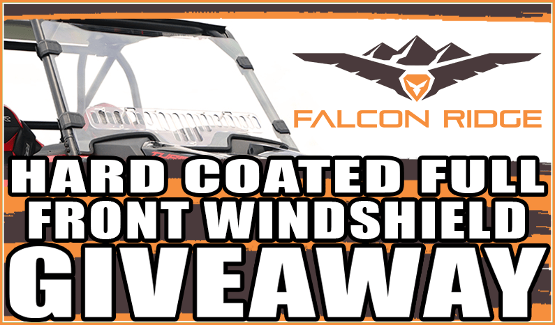 Falcon Ridge Hard Coated Full Front Windshield Giveaway