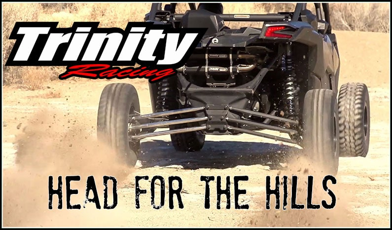 Trinity Racing | Head for the Hills – Can-Am Maverick X3