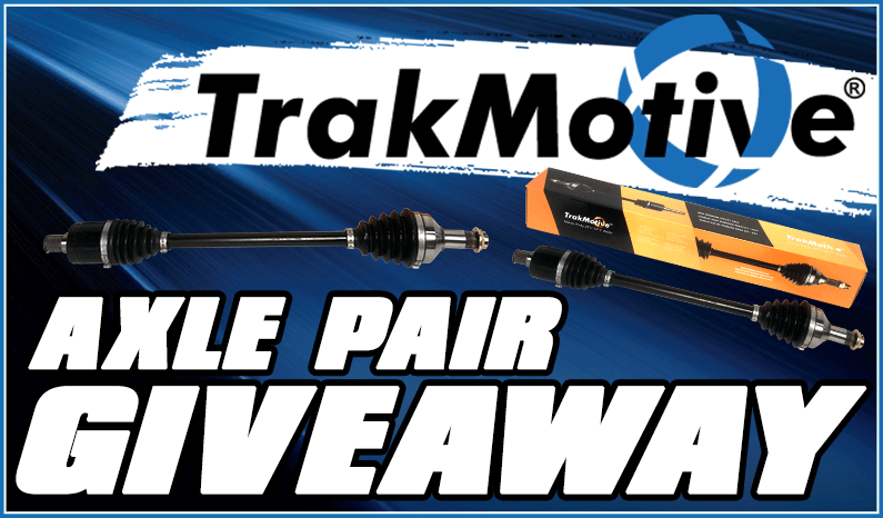 TrakMotive Axle Pair Giveaway