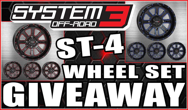 System 3 Off-Road ST-4 Wheel SetGiveaway