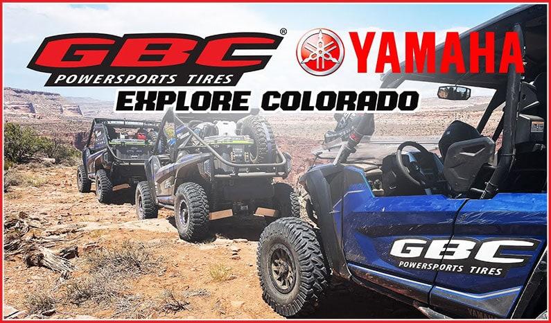 GBC Tires and Yamaha Explore Colorado