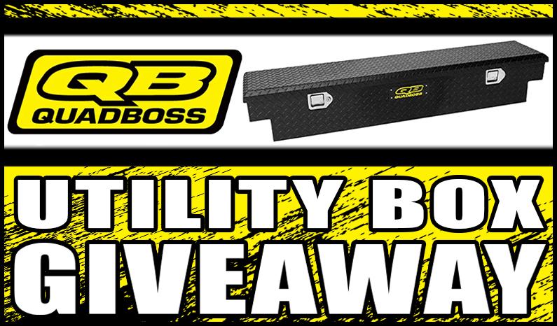 Quad Boss Utility Box Giveaway