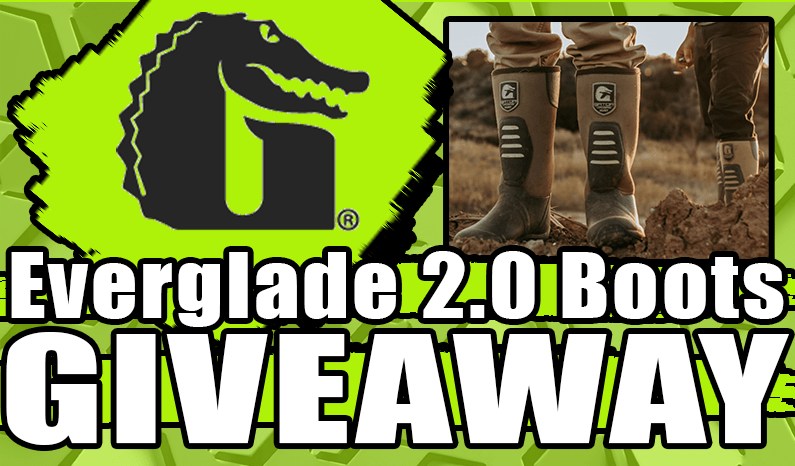 Gator Waders Everglade 2.0 Boots Giveaway
